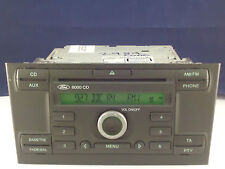 FORD MONDEO MK3 RADIO 6000 REPRODUCTOR DE CD ESTÉREO SECURITY CÓDIGO 04 2005 06
