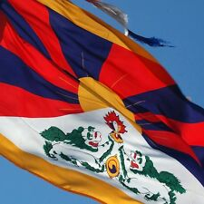 TIBET flag new 3x5 ft TIBETAN DALAI LAMA