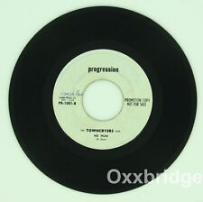 THE TOWN CRIERS Rock Garage Band Folk Group Rare PROMO Ho Hum/This Road PYSCH