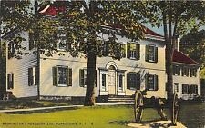 Morristown New Jersey~George Washington's Headquarters~Cannon in Foreground~'40s