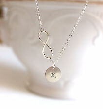 Personalized Infinity Charm Necklace