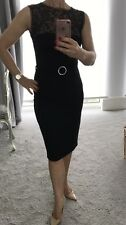roberto cavalli Just Cavalli Black Pencil Dress Uk10