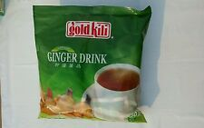 INSTANT GINGER TEA DRINK - GOLD KILI 40 Sachets Packet in 2 Bags