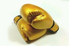 SIBIGA 6oz Gold Kids boxing gloves.kickboxing.muay thai,karate.sparring