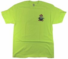 Fourstar 8 Ball Sample Men's Safety Yellow T-shirt - Large (LIMITED EDITION)