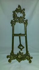 Brass Antique/vintage table top easel - In good condition