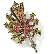 Heidi Daus Lantern Pin EXQUISITE SWAROVSKI CRYSTALS MUST HAVE FOR CHRISTMAS!!!