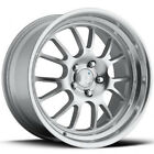 18 KLUTCH SL14 SILVER RIMS WHEELS 18x8.5 +35 5x114.3 RSX CIVIC INTEGRA ACCORD