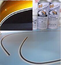Honda CB 500 cuatro k0 k1 barniz decal pintura frase Candy Gold + Tank decoración Manicure