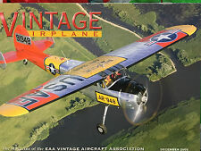 VINTAGE AIRPLANES MAGAZINE DECEMBER 2005 *IT'S A GENERATIONAL THING*