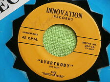 "INNOVATIONS~ EVERYBODY~THIS IS A ROCKER~""21""~~SIGNED BY RAY GUYCE~MEGA  ~ R&B 45"