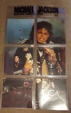 "MICHAEL JACKSON - Souvenir Singles Pack ~5x 7"" Vinyl *SHAPED PICTURE DISC SET*"