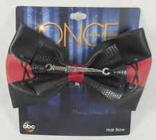New Disney Once Upon A Time Rumplestiltskin Cosplay Hair Bow Pin Clip Barette