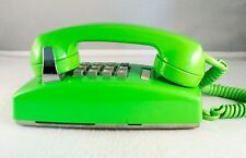 Stromberg-Carlson Vintage Green Touch Tone Wall Phone. Collectors- RARE COLOR.