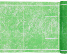 5mtr vert football tablerunner/sets de table fête d'anniversaire table