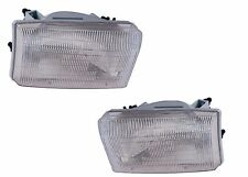 FLEETWOOD DISCOVERY 2005 2006 PAIR FRONT HEADLIGHTS HEAD LAMPS RV - SET