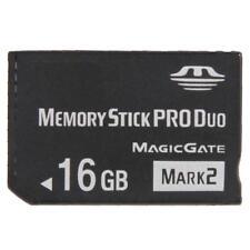 """""""(100% di capienza reale) MARK2 16GB ad alta velocità Memory Stick Pro Duo"""""""