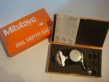 Brand New Mitutoyo 7211 Dial Depth Gauge 0-200*0.01mm