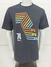 74 Paris-Roubaix GRAY Men's LARGE Classic Bicycle Road Race Reproduction T-Shirt