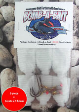 Catfish, BOMB-A-BAIT PLUS™, Catfish 9 piece Bait Holder~ (Catch More Fish!)