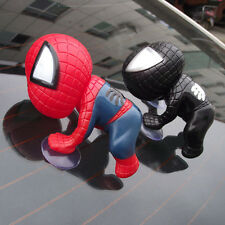 Cute Car SUV Body/Window/Windshield Cartoon Spiderman Doll Sucker Decorative Toy