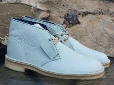 Clarks Originals Desert Boot UK 8 BNIB  Pale Green Leather Wallabees