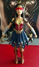 OOAK CUSTOM GREG RUCKA 'GORGON' WONDER WOMAN 12 in BARBIE ACTION DOLL