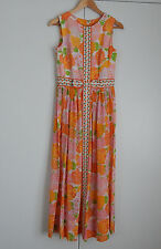 AUTHENTIC VINTAGE LILLY PULITZER THE LILLY LONG DRESS WOMEN'S SIZE 10 STYLE 750