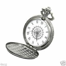 Cosplay Anime Black Butler Kuroshitsuji Sebastian Ciel Pocket Watch + Box