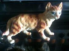 Vintage Norleans large ceramic cat figure #3