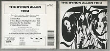 THE BYRON ALLEN TRIO - Germany CD ESP 1005-2