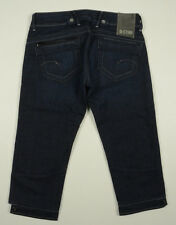 EUC - AS NEW - RRP $279 - Womens G-Star Raw  'ROYCE CROPPED WMN'  Indigo Jeans