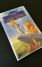 WALT-DISNEY-The-Lion-King-VHS-1995-Masterpiece-Collection