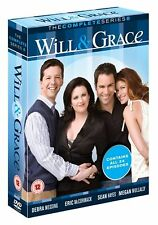 Will And Grace - Series 8 - Complete (DVD, 2011, 4-Disc Set)