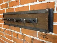 Industrial Coat Rack - Wall Mounted