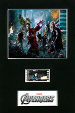Mounted Film Cells - Avengers Assemble filmcell movie memorabilia