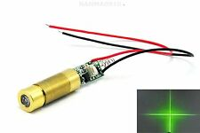 Industrial 532nm 20mW Green Laser Cross Diode Module Locate light 3.0-3.7V