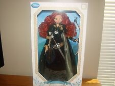 """DISNEY Pixar BRAVE 18"""" MERIDA Doll Limited Edition 7000 With Display Stand *NEW"""