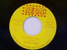"""JANYCE JAMES """"I'LL ALWAYS CARE / COME ON LET'S DO IT"""" 45"""