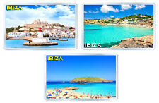 IBIZA SET2 OF 3 FRIDGE MAGNET SOUVENIR 3 IMANES NEVERA