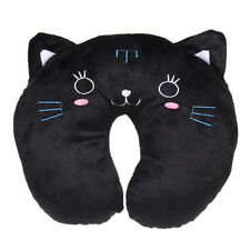 Memory Foam U Shaped Travel Pillow Neck Support Head Rest Cushion Gift Black
