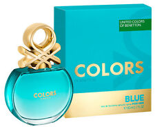 Treehousecollections: Colors de Benetton Blue EDT Perfume For Women 80ml