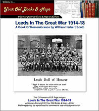 LEEDS IN THE GREAT WAR WW1 1914-1918 CDROM