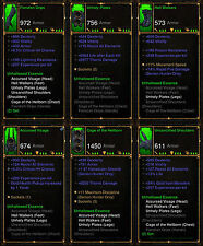 DIABLO 3 ROS PS4 [ softcore ] - Unhallowed ESSENCE DEMON HUNTER Set [ antica ]