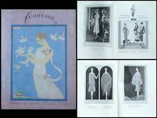 FEMINA 1926 REVUE MODE, GEORGES BARBIER, GOLF, PATOU LANVIN PREMET GROULT