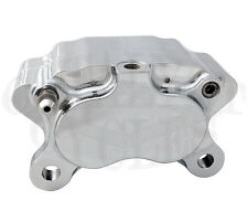 "ULTIMA FOUR PISTON CHROME BRAKE CALIPER FOR HARLEY BRAKE CALIPER FOR 11.5"" ROTOR"