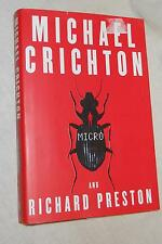 Micro  by Michael Crichton and Richard Preston (2011, Hardcover,  First edition