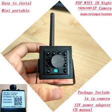 IR WIFI 1080P IP Security Camera Wireless P2P Audio Remote Network Onvif Spy Cam