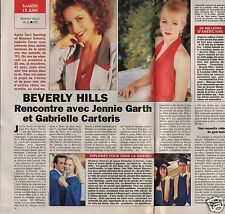 Coupure de presse Clipping 1993 J. Garth G. Carteris Beverly Hills  (1 page 1/2)