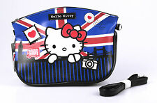 HELLO KITTY Kosmetiktasche London-Motiv, PU, mit Umhängegurt